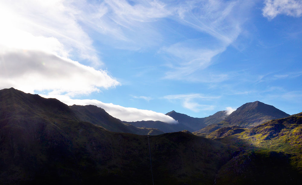 Snowdon Horseshoe late afternoon