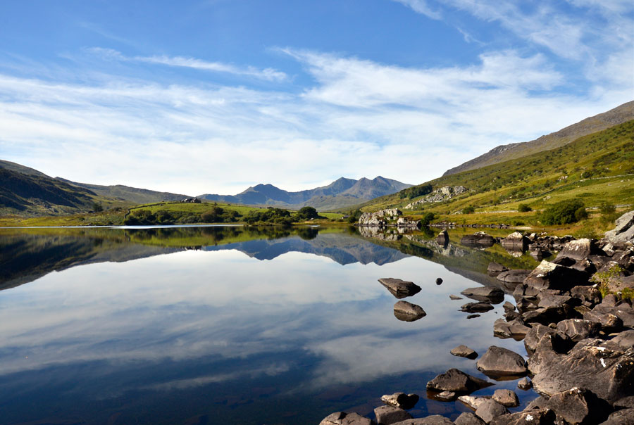 Snowdon from Capel Curig