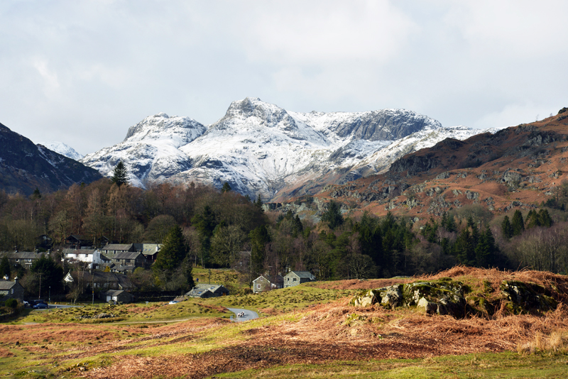 Langdales from Elterwater Common