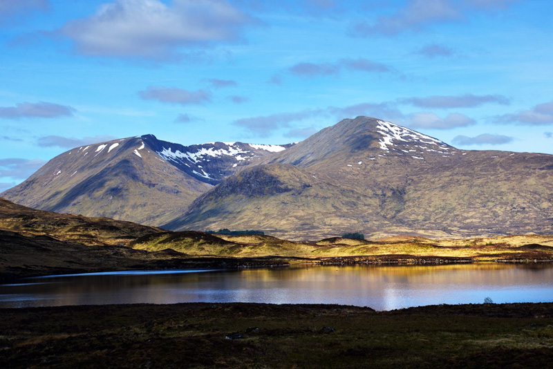 View from Rannoch Moor